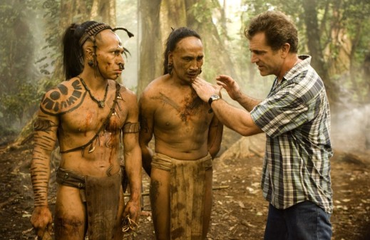 MEL GIBSON MEL GIBSON MEL GIBSON, PENDANT LE TOURNAGE / ON THE SET DE APOCALYPTO YEAR: 2006 - USA CINEMA