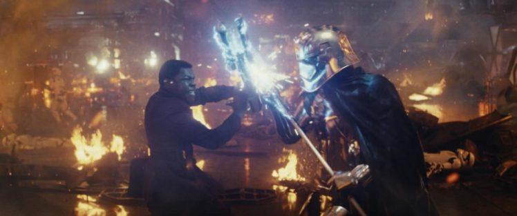 Scene del film in uscita 'Star Wars: The Last Jedi'